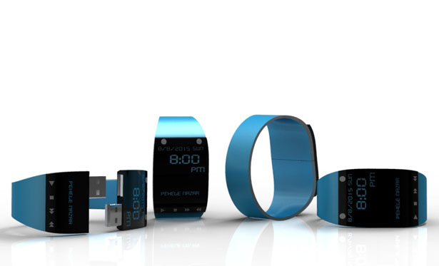 Music Watch with USB by Shameem M