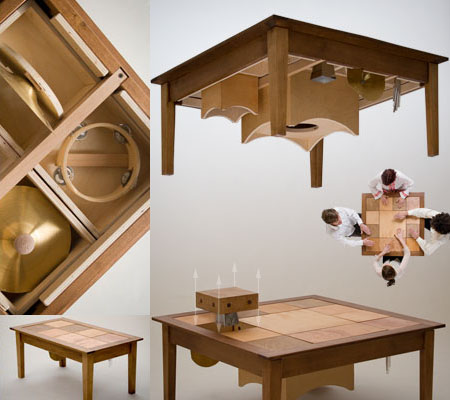 musical rumba table series from musical furnishings