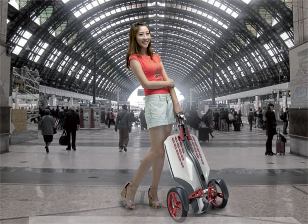 Muv-e Scooter by Myurbanvehicle