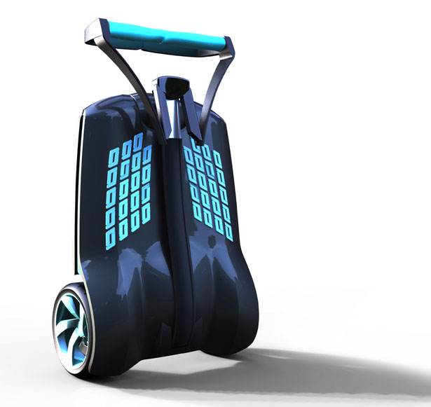 MUVe Scooter Urban Personal Transportation by Amir Zaid and Benny Shimon