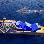 MY Fata Morgana Superyacht Concept Looks Like a Fantasy Island in The Middle of Arctic Ocean
