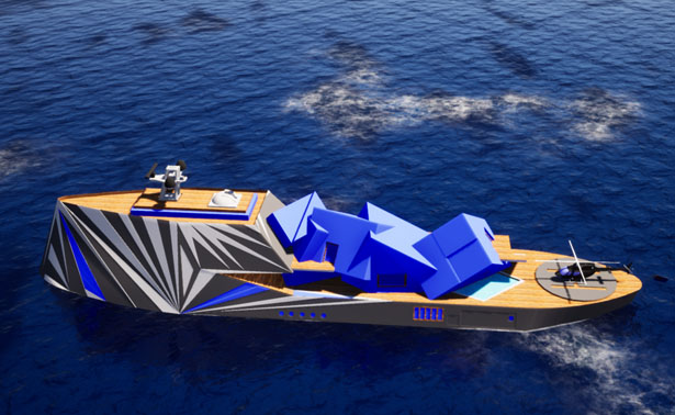 MY Fata Morgana Superyacht Concept by Goerge Lucian Art