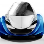 MyersMoto Air : One-Seater Concept Electric Vehicle with Warning Sounds