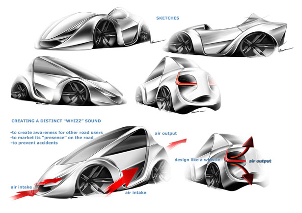 Myersmoto Air Concept Vehicle by Imran Othman