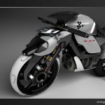MZ Revival Motorcycle Features Organic and Fluid Design