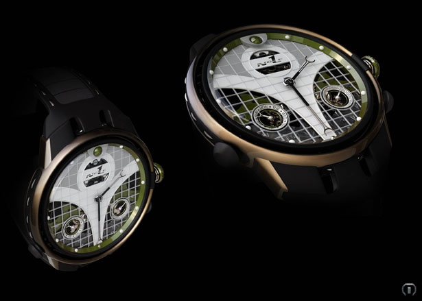 N1 Watch Design Tribute to Novak Djokovic