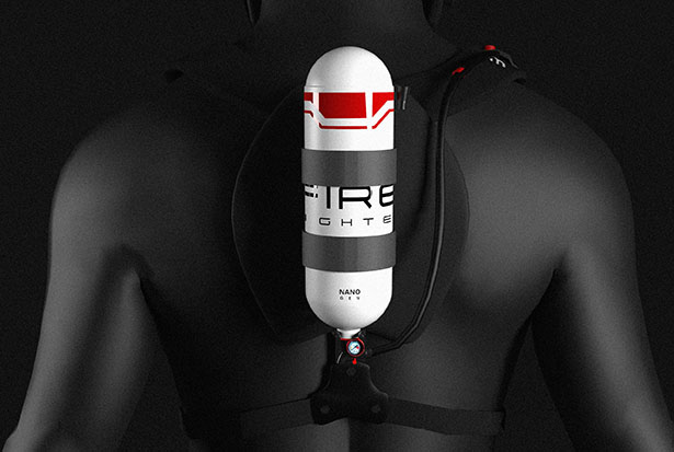 NanoGen Breathing Device for Firefighters Filters Toxic Gases with Nano Fiber PAN Technology