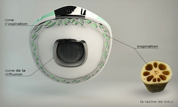 Nanophea Robot Vacuum Cleaner Concept by Zaier Jihed