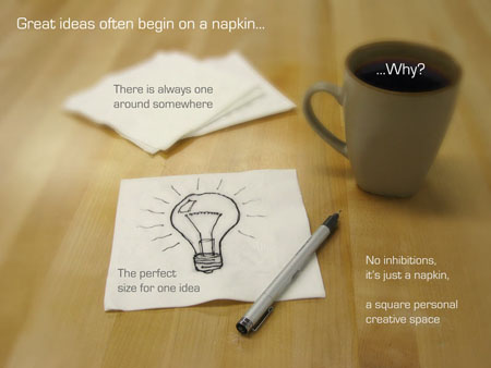 future napkin PC