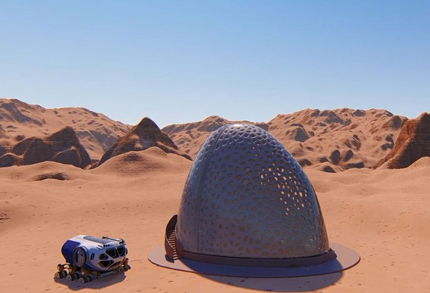NASA 3D Printed Habitat Competition Winners - Team Kahn-Yates of Jackson, Mississippi