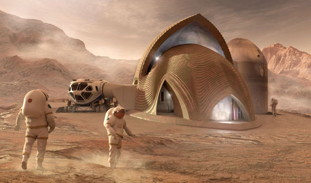 NASA 3D Printed Habitat Competition Winners - Team SEArch+/Apis Cor of New York