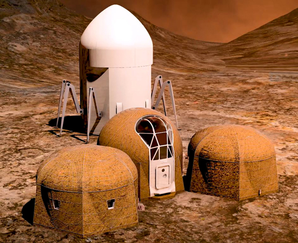 NASA 3D Printed Habitat Competition Winners - Team Zopherus of Rogers, Arkansas