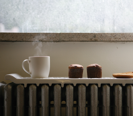 """""""Natural Wave"""" Will Utilize The Heat from A Radiator to Warm Your Foods"""