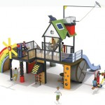 Nature Energy Park : Playground That Teaches Children About Renewable Energy