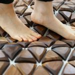 Nature Steps: Reflexology-Tiles Encourage Natural Healing While Standing and Walking