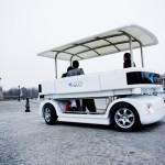 Navia Self-Driving Electric Shuttle Car Is A Great Alternative to Public Transports in Urban Areas