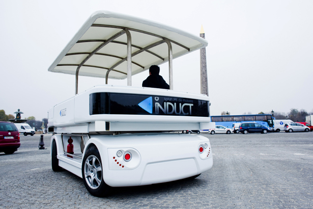 Navia Self-Driving Electric Shuttle Car