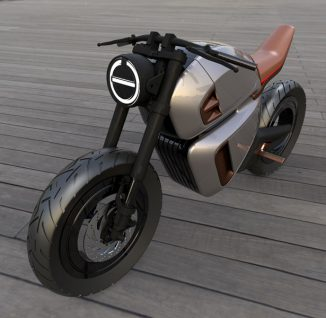 Nawa Racer Hybrid Battery-Powered Electric Motorbike Concept Uses Ultracapacitors for Ultra-Fast Charging and Stunning Energy Recovery