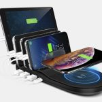 Naztech Wireless Power Hub 5 Charging Station Charges All Your Devices at Optimum Speed