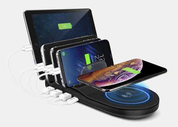 Naztech Wireless Power Hub 5 Charging Station