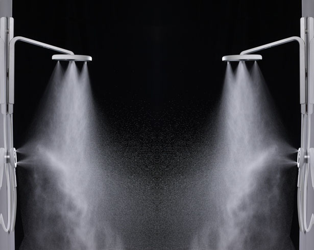 Nebia Showerhead Produces Millions of Water Droplets to Cover More Surface Area with Less Water