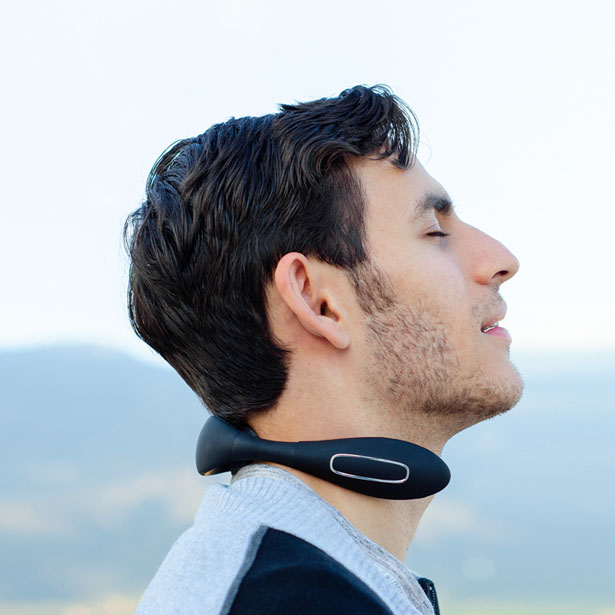 NECKAIR - Portable Neck Muscle Massager and Warmer