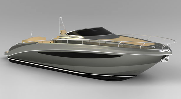 Need 32' Yacht by Paolo Ferragni