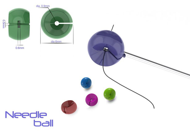 Needle Ball by Basil Joe