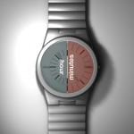 Nelja Analogical Watch Design by Löytö Esineiden