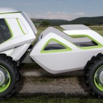 NEO: Multi-Purpose Agricultural Vehicle Features Joystick Controls and Ergonomic Cockpit