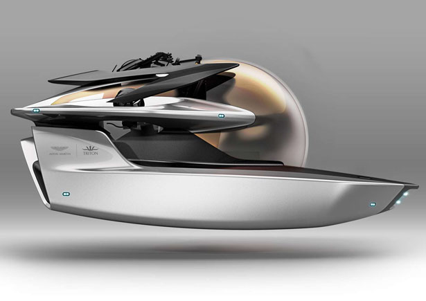 Aston Martin and Triton Project Neptune Submersible