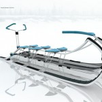 Nerpa Transformable Dog Sledge for North Russia Environment
