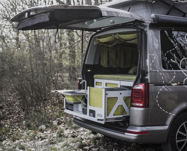 Nestbox Roamer Transforms Your Vehicle into Camper by Egoe Nest