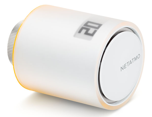 Netatmo Smart Radiator Valves by Phillipe Starck