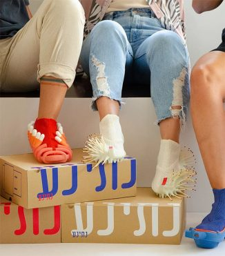 Netina Project – Pair of Shoes Allow You to Give On-The-Go