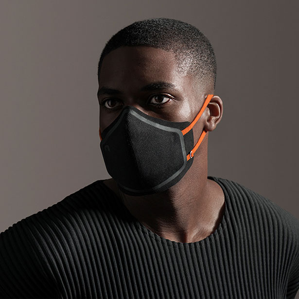 Go Mask Layered Face Mask for 'Never Go Alone' Brand by Layer Design