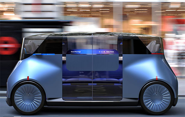 Car for London Project by PriestmanGoode
