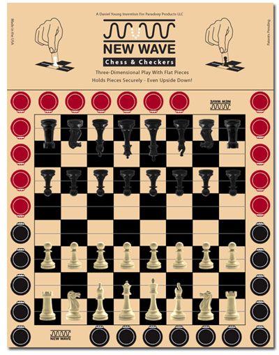 world's lightest new wave chess and checker