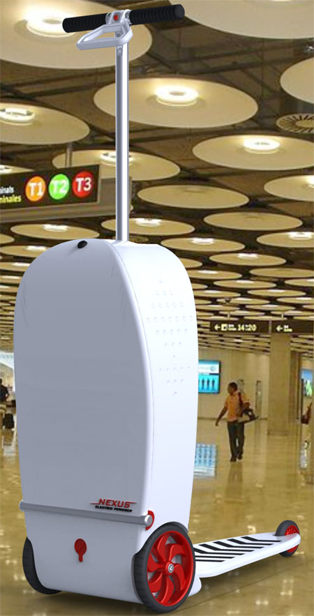 Nexus : An Innovative Scooter To Move Around in The Airports