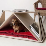 Nidin Coffee Table Doubles As Your Pet Shelter