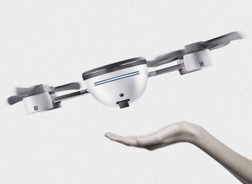 Nike AirBuddy Drone to Fly with You While Exercising Outdoors by Cheolhee Lee