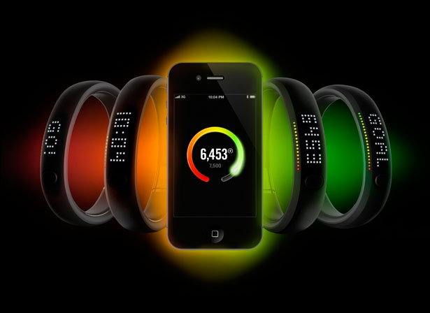 Nike+ FuelBand Fitness Track for Athletes at All Levels of Fitness