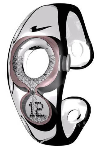 presto 2008 nike hourglass watch concept
