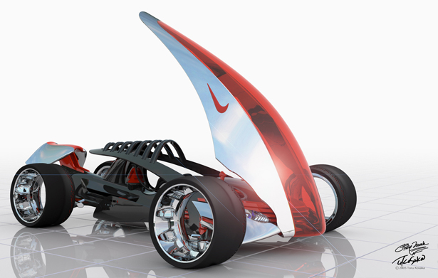 Nike One 2022 Racing Car for Gran Turismo 4 by Phil Frank