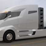Nikola One Six-Wheel Drive, Electric Semi-Truck Allows Dynamic Control of Each Wheel