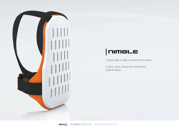Nimble Backpack by Fernando Montero, Alan Niski, Eduard Carulla, and Joan Niubó