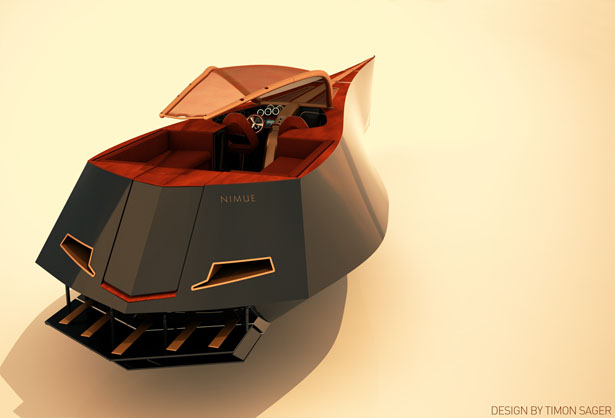 Nimue 490 Gentleman's Day Cruiser by Timon Sager
