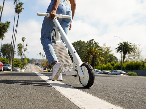 Ninebot KickScooter ES2 with One Step Folding System