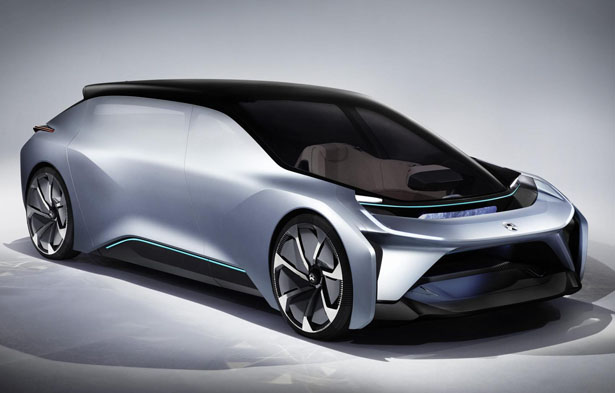 NIO EVE Electric Car for The Year of 2020