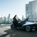 Futuristic Nissan BladeGlider Is A 3-Seater Concept Electric Car with Exotic Styling